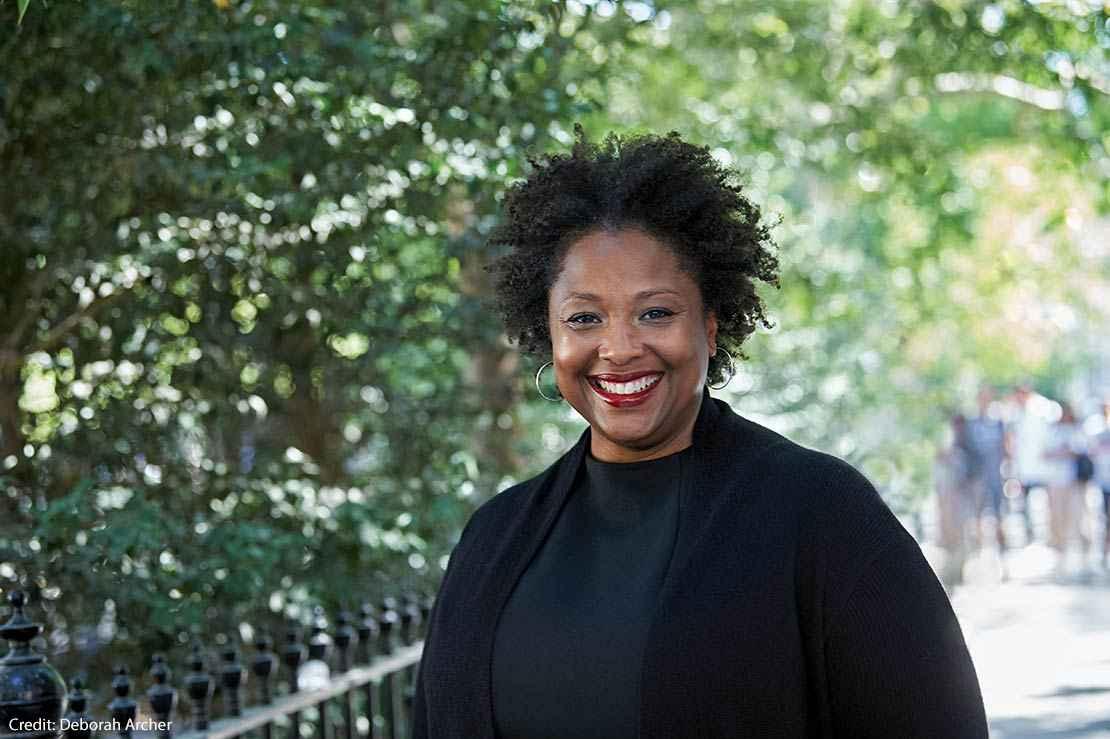 Image of the new ACLU President Deborah Archer