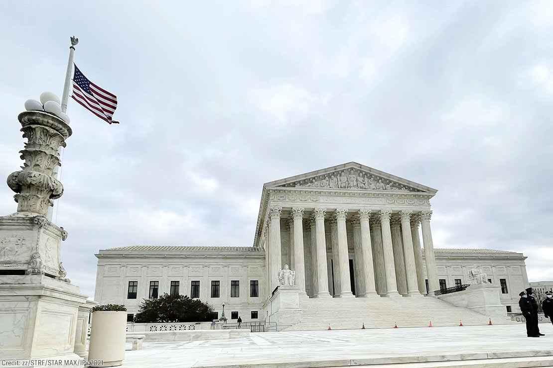 The Supreme Court Building in Washington, D.C..