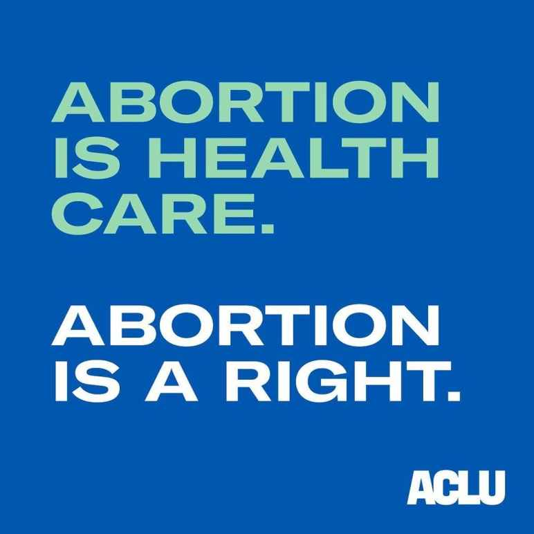Abortion is health care.