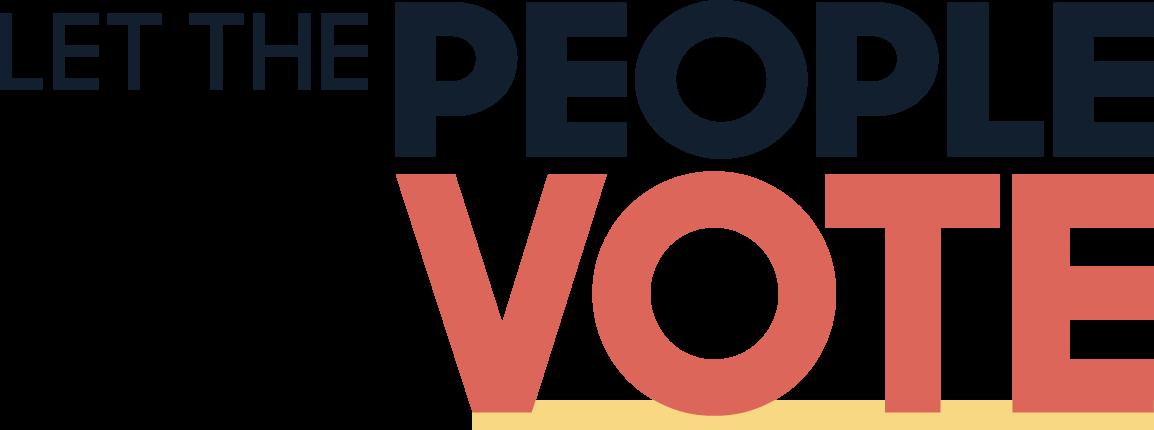 Let People Vote Logo